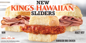 Arby's New King's Hawaiian Sliders