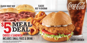 Arby's $5 Meal Deal