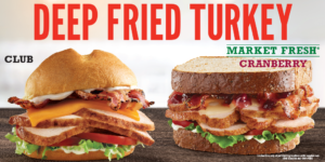 Arby's Deep Fried Turkey Sandwiches