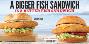 Arby's Fish Sandwiches