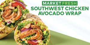 Arby's Southwest Chicken Avocado Wrap