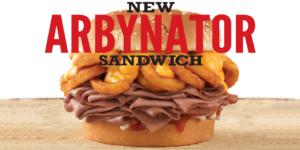 Arby's New Arbynator Sandwich