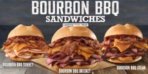 Arby's Bourbon BBQ Sandwiches