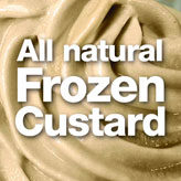 ALL NATURAL FROZEN CUSTARD