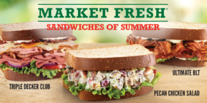 Arby's Market Fresh Sandwiches