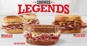 Arby's Sandwich Legends