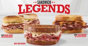 Arby's Sandwich Legends