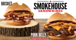 Arby's Smokehouse Sandwiches are Back! Including our Pork Belly sandwich…