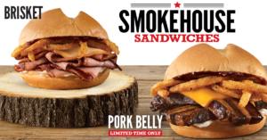 Arby's Smokehouse Sandwiches