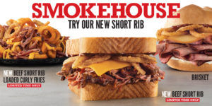 Arby's Smokehouse including New Short Rib