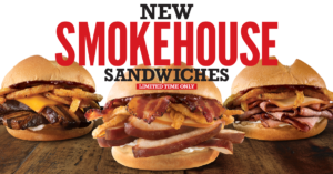 Arby's Smokehouse Sandwiches